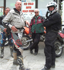 Mexico to Canada thru-bikers