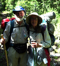 We're glad to be on the PCT!